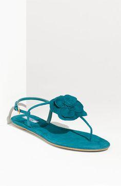 Prada Strap Flower Sandal