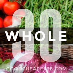 Need inspiration for your Whole 30 experience or just healthier eating in general? Try these Whole 30 recipes that are perfect for summer. Light Recipes, Clean Recipes, Paleo Recipes, Paleo Meals, Cooking For A Crowd, Cooking On A Budget, Budget Meals, Paleo Whole 30, Whole 30 Recipes