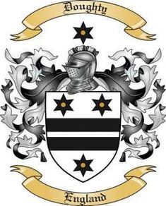 Doughty Family Coat of Arms from England