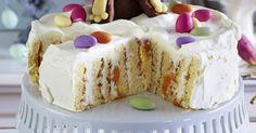 Easter Bunny Cake, Pudding Cake, Cake Tins, Marzipan, Cream Cream, Easter Recipes, Tray Bakes, Vanilla Cake, Baking Ideas