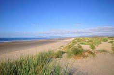 Harlech Beach North Wales.