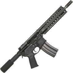 "Bushmaster XM-15 Enhanced Patrolman's AR Semi Auto Pistol 5.56 NATO 10.5"" Barrel 30 Rounds Quad Rail Black"