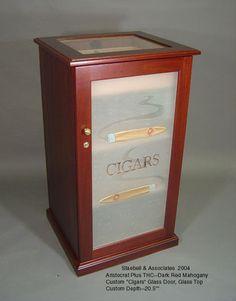 ARISTOCRAT CABINET HUMIDOR OPTIONS Humidor Cabinet, Cabinet Plans, Cigar Humidor, Home Jobs, Glass Door, Cigars, How To Plan, Diy, Home Decor