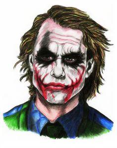 Heath Ledger as the joker by dianaloli-chan on DeviantArt Batman Joker Wallpaper, Joker Iphone Wallpaper, Joker Wallpapers, Joker Images, Joker Pics, Joker Art, Joker Pictures, Image Joker, Android Wallpaper Nature