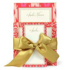 Pink Ikat Notepads