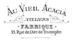 Printable Image Transfer - Fancy French Typography - The Graphics Fairy