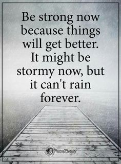 Be strong now - Love this Quote... gives you hope... | Want More Inspiring Quotes? > https://pinterest.com/analika3/short-inspiring-quotes/