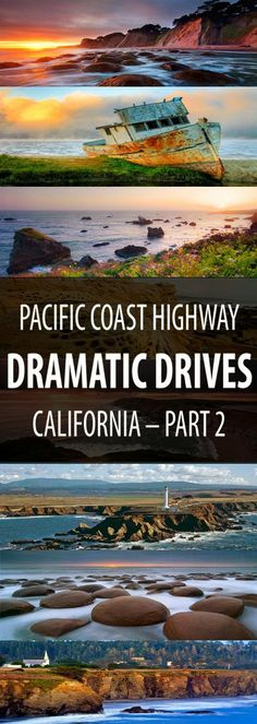 Last week we posted Dramatic Drives – Pacific Coast Highway and had such an awesome amount of requests for the rest of the journey that here it is… Dramatic Drives – Pacific Coast Highway North, a continuation of SR1 or Highway 1 in California.