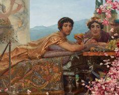 Sir Lawrence Alma-Tadema | The Roses of Heliogabalus, 1888 | Tutt'Art@ | Pittura * Scultura * Poesia * Musica |