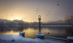 Stavanger lake in winter Stavanger, Cn Tower, Building, Winter, Travel, Norway, Winter Time, Viajes, Buildings