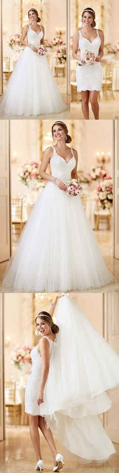 Wedding Dresses: White/Ivory Lace Bridal Gown Mermaid Wedding Dress Custom Size 2 4 6 8 10 12 14+ BUY IT NOW ONLY: $139.0