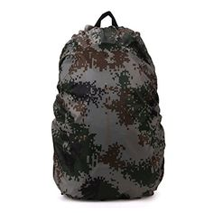 Waterproof Backpack Rain Cover Camouflage Color Great for Hiking Camping Traveling Camouflage45L >>> Click on the image for additional details.