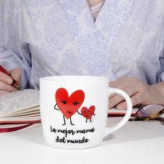La mejor mamá del mundo: una taza muy tierna