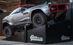 Cars from The Fate of the Furious at Universal Studios Orlando -Watch Free Latest Movies Online on Moive365.to