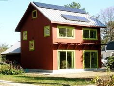 Wisconsin Passivhaus combines three movements: green building, tiny house and sustainable living
