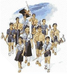 Scouts of europe art Scout Uniform, Norman Rockwell, Girl Guides, Illustrations, Best Memories, Girl Scouts, Boy Or Girl, Knots, Images