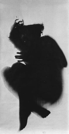 Floris Neusüss: reminds me of  the shadow figures that people see right before a death or tragedy. Men at war see them all of the time.