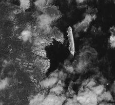 Capsized Cruise Ship Costa Concordia from Space; photograph by digitalglobe.com