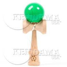 Kendama Usa Tribute - Wooden Skill Toy- Green, 2015 Amazon Top Rated Novelty Games #Toy