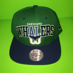 8cab8af191d Mitchell   Ness Hartford Whalers SnapBack Hat NWT Mitchell and Ness  Hartford Whalers SnapBack Hat. Purchased this hat at Mitchell and Ness  Flagship store in ...
