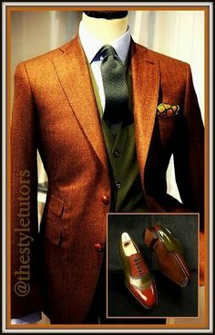 The Style Tutors Sharp Dressed Man, Well Dressed Men, Suit Fashion, Mens Fashion, Fashion Outfits, Men Dress Up, Western Suits, Gq Style, Stylish Mens Outfits