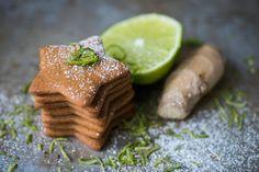 Oppskrift på pepperkaker med lime og ingefær. Norwegian Food, Lime, Baking, Christmas, Winter, Bread Making, Yule, Lima, Navidad