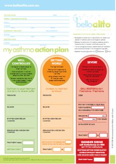 Asthma Action Plan  Health Asthma And Breathing