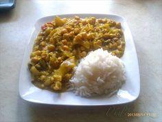 Obrázek z Recept - Tofu s kari a jasmínovou rýží