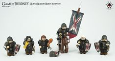 Game of Thrones - House Bolton Heavy Infantry by Barthezz Brick