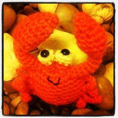 Amigurumi crab by me