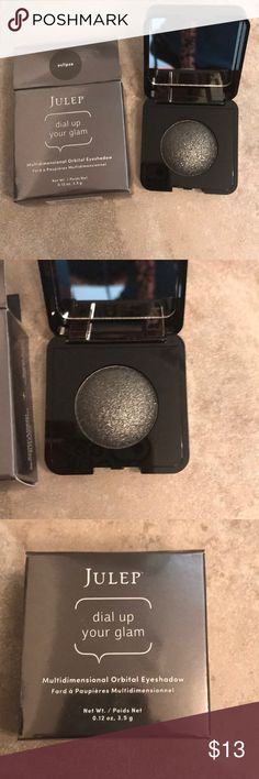 Julep Silver Orbital Eyeshadow Brand new, Julep dual up your glam, multidimensional orbital eyeshadow. Color is eclipse. Julep Makeup Eyeshadow