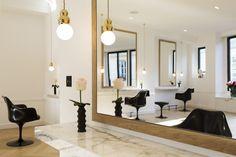 La décoration du salon David Lucas à Paris