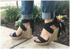 Wedge LOVE!  These wedges are DARLING!  AND they are made by UGG, so they are incredibly comfortable!