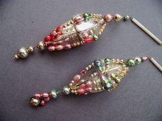 Gablonz, Glass bead Ornaments