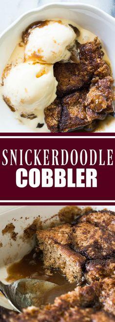 Snickerdoodle Cobbler