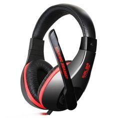 Hoy con el 59% de descuento. Llévalo por solo $41,600.SALAR KX102 auriculares para juegos con micrófono Control de voz suaves orejeras.