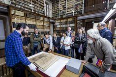 Visite de la bibliothèque de l'ancien Grand Séminaire d'#Annecy, aujourd'hui Conservatoire d'Art et d'Histoire, pendant les Journées européennes du patrimoine 2017 #hautesavoiExperience