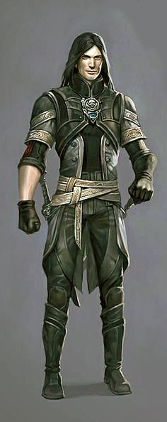 Málgeir's gear is fashionable and functional.