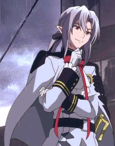 //Seraph of the End, Owari No Seraph, Ferid, Ribbons Anime Art Girl, Anime Guys, Anime Love, Shinoa Hiiragi, Scariest Monsters, Amaterasu, Seraph Of The End, Owari No Seraph, Manga Pictures