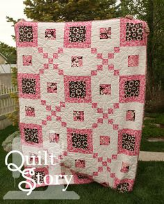 PDF Quilt Pattern / Modern/ Easy / Kennas Blooms via Etsy
