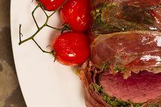 Die Nataniel Tafel | BIEFSTUK MET PAMPOENPITPESTO Vegetable Snacks, Vegetable Salad, South African Recipes, Banting, Healthy Eating, Beef, Healthy Recipes, Vegetables, Kos