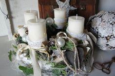 """Adventskranz+""""Weihnachtsgedicht""""+von+Hoimeliges.....+auf+DaWanda.com"""
