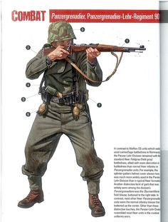 Panzergrenadier vs US Armored Infantryman Ww2 Uniforms, German Uniforms, Military Uniforms, German Soldiers Ww2, German Army, Military Art, Military History, Military Costumes, Military Drawings