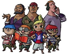 View an image titled 'Tetra & Pirates Art' in our The Legend of Zelda: Wind Waker art gallery featuring official character designs, concept art, and promo pictures. Wind Waker, Stupid Pictures, Funny Pictures, Sailor Moon, N64, Character Art, Character Design, Character Sheet, Character Inspiration