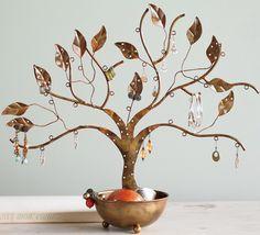 Jewellery tree of life.