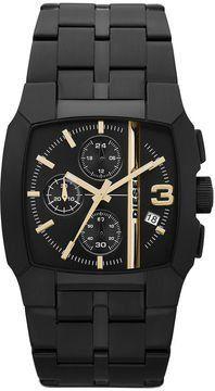 Diesel Chronograph 3-Hand with Date Men's watch #DZ4259 Diesel. $169.97. Square Stainless Steel Case; Analogue Display; Steel Bracelet Strap; Water Resistance : 5 ATM / 50 meters / 165 feet