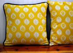Piping ~ How to Add Piping to a Pillow « Sew,Mama,Sew! Blog