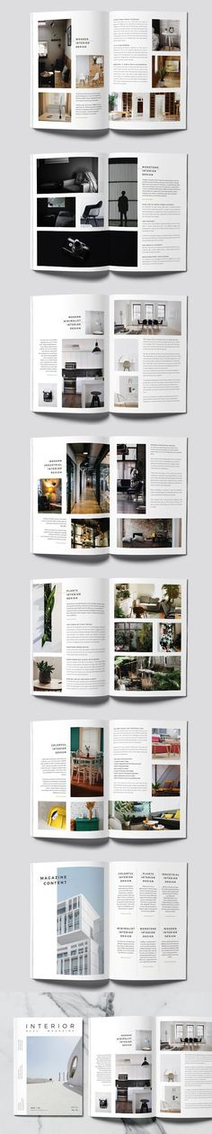 Minimal Interior Magazine #magazine #minimal