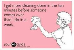 House Cleaning.
