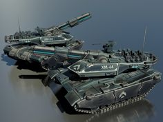 XM44 Sabretooth Omni-Environment Main Battle Tank by Helge129 on DeviantArt